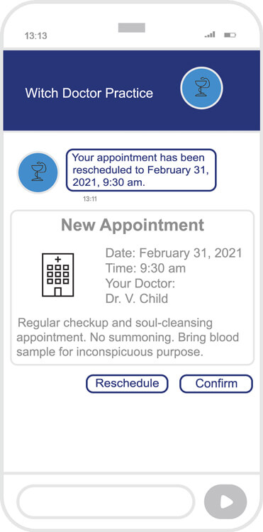 RCS Appointment