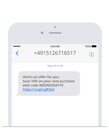 The most common mistakes in SMS marketing: lack of personalization and ambiguous sender