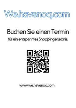 The QR code leads to the website with the options for appointment booking
