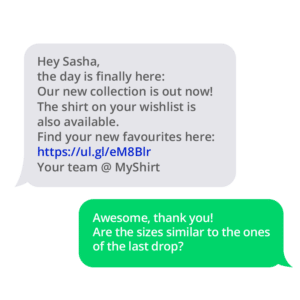 Improve your SMS campaign with reply options