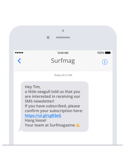 Send SMS in your Ruby project