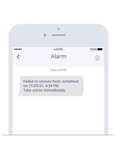 Easily send alarm SMS with StackStorm